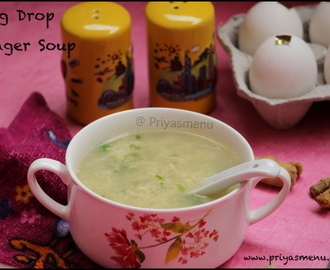 Egg Drop Ginger Soup