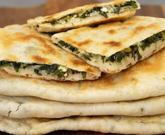 Spinach and Feta Gozleme - YouTube
