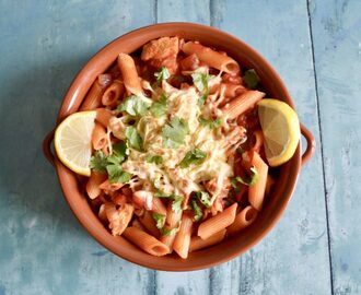 Gluten and Dairy Free Chicken Fajita Pasta