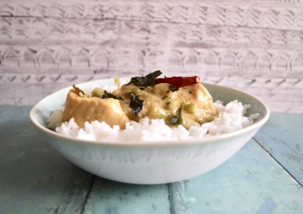 Gluten and Dairy Free Thai Green Chicken Curry