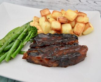 Gluten and Dairy Free Barbecue Pork Belly