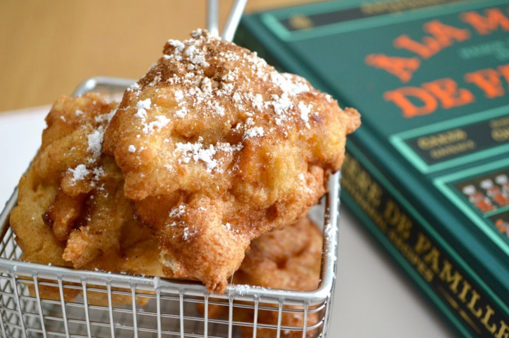 Gluten and Dairy Free Apple Fritters