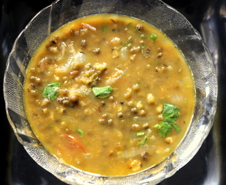 Whole green moong dal recipe – green gram curry recipe – dal recipes