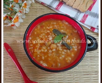 Barley Vegetable Soup Recipe