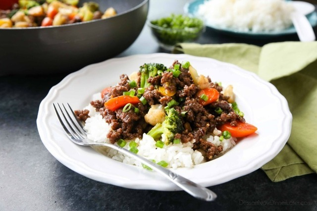 (Cheap) Korean Beef with Vegetables (+ Video)