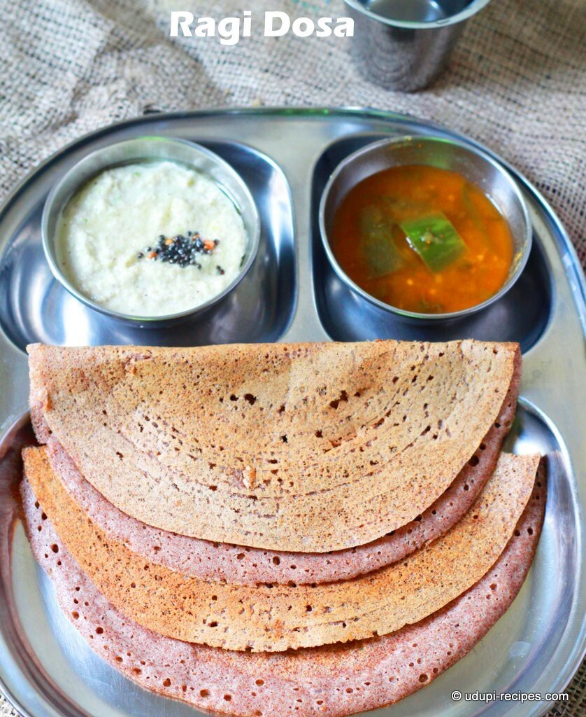 Fermented Ragi Dosa Recipe | Easy Breakfast