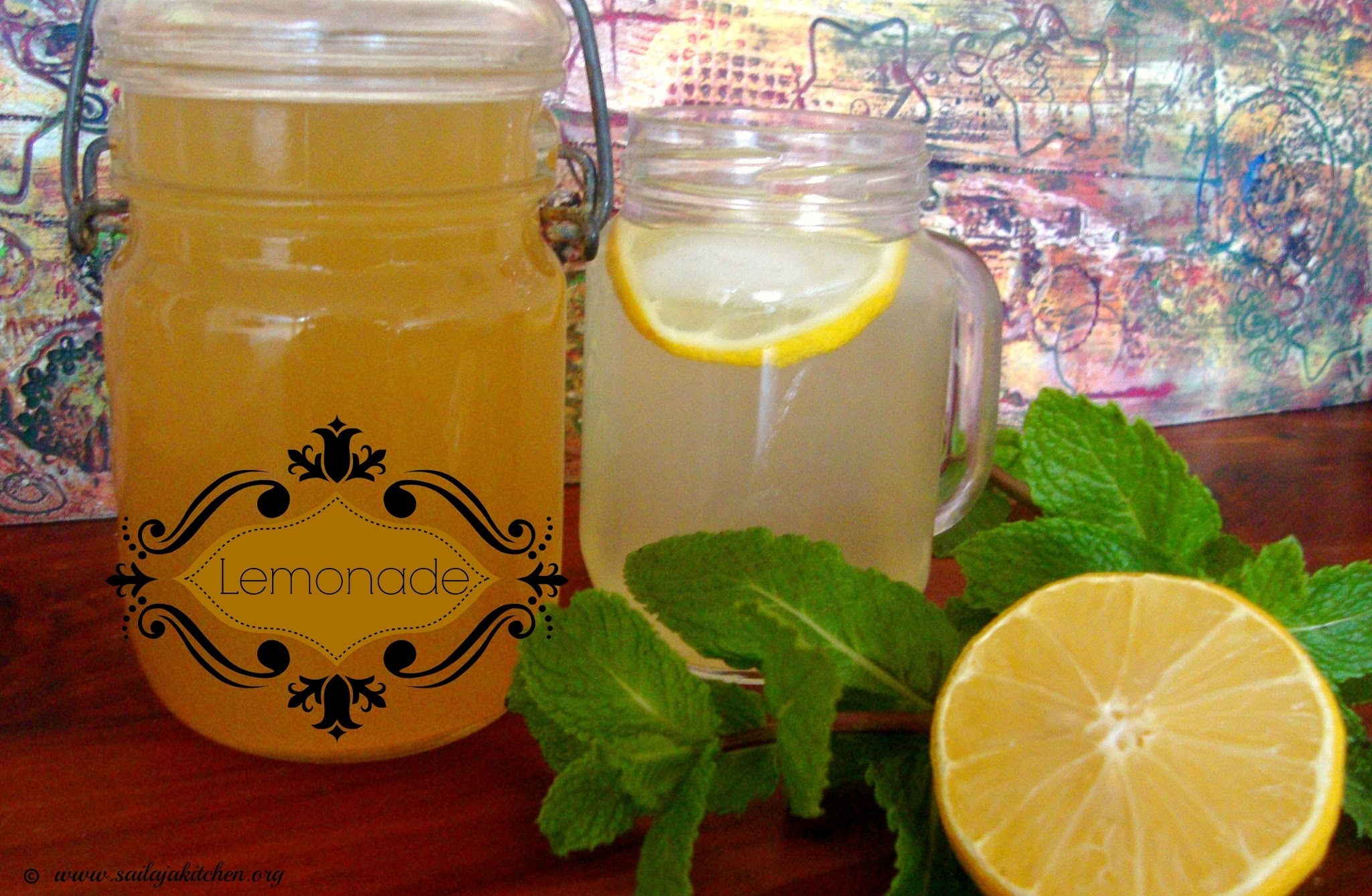 Lemonade Recipe / Homemade Lemonade Recipe / Lemonade Indian Style / Homemade Lemonade Recipe / Homemade Lemon Syrup