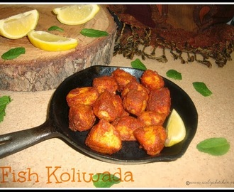 Fish Koliwada /Fish Koliwada Recipe / Fried Fish in Koliwada Style / Macchi Koliwada Recipe / Amchi Mumbai Spicy Fried Fish Recipe