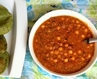 Chole Kasuri Methi