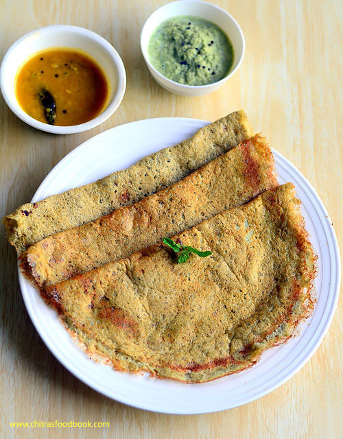 Green Gram Dosa Recipe – Dosa Without Rice- Protein Dosa Recipe