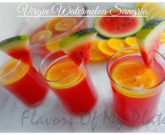 Virgin Watermelon Sangria