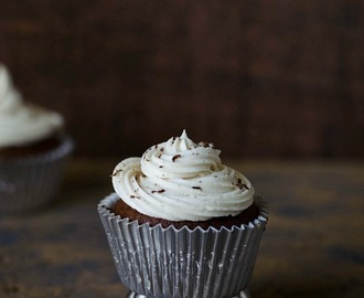 Eggless Chocolate Cupcake with Butter cream Frosting