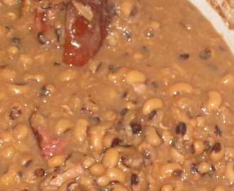 Hoppin' John, Southern Memories, and a Recipe for Mexican Black Beans