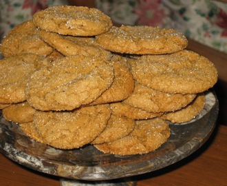 Ginger Cookies with Black Pepper and Cardamom:  Thank you, Fellow Bloggers!