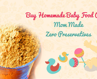 Buy Homemade Baby Food Online India