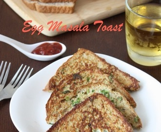 Egg Toast | Masala Egg Toast | Egg Toast with Indian spices