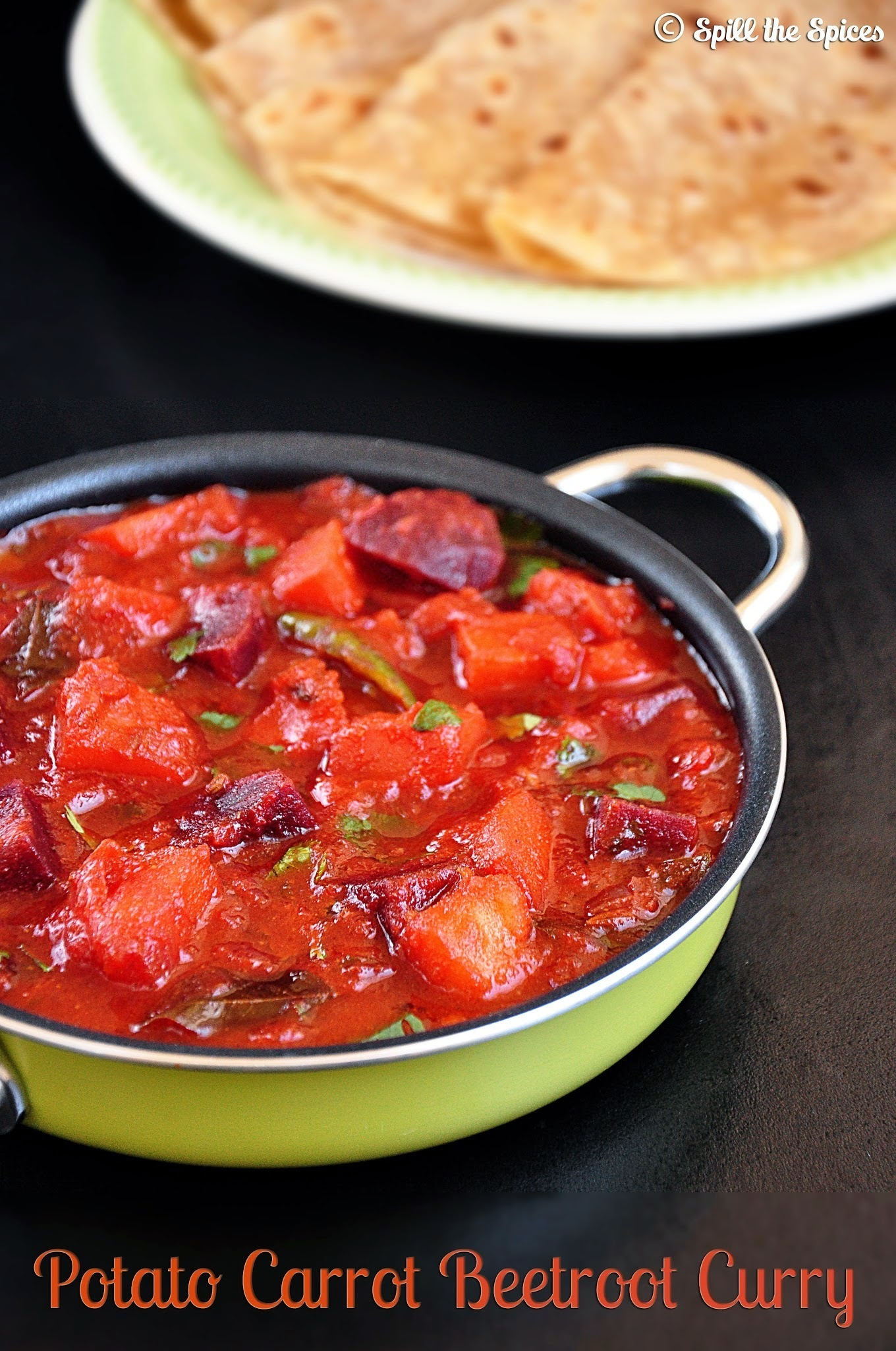 Potato Carrot Beetroot Curry