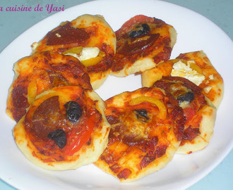 Mini pizzas - Pizza poğaça