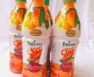Review for Tropicana Slice Alphonso Mango Drink