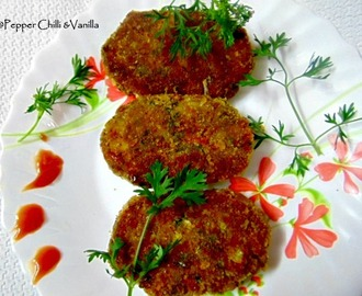 Mince Cutlets/Kheema Cutlet Recipe