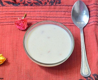 Arisi thengai payasam recipe - rice coconut payasam - easy Indian dessert recipes