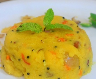 Rava Kichadi Recipe - How To Make Rava Kichadi