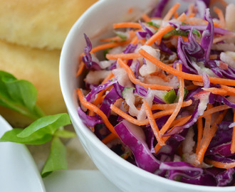 Red coleslaw - rode koolsalade