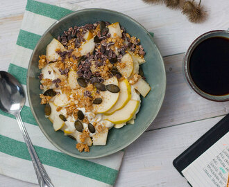 Gute Laune Breakfast Bowl (vegan, low carb)