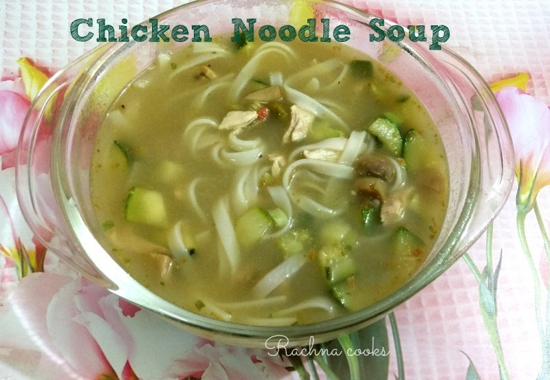 Homemade Chicken Noodle Soup for the Soul