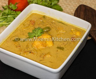 Fish Caldine (Goan Fish Curry)