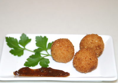 Fry Chicken Balls Recipe