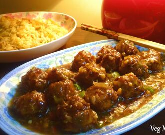Vegetarian Manchurian Recipe