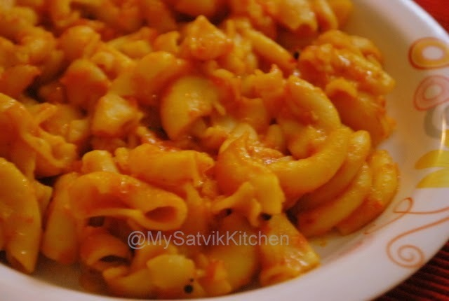 MACARONI PASTA (SOUTH INDIAN STYLE)