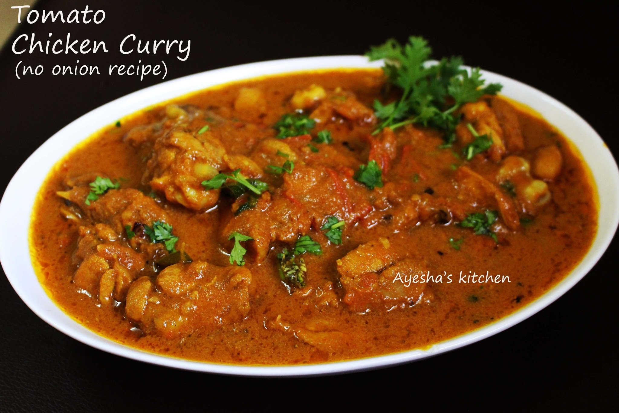 TOMATO CHICKEN CURRY - SPICY CHICKEN RECIPES