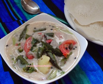 Vendakka Stew/Ladies Finger Stew/Okra Stew