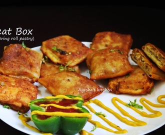 SPRING ROLL RECIPE - MEAT BOX / IRACHI PETTI / SPICY SNACK