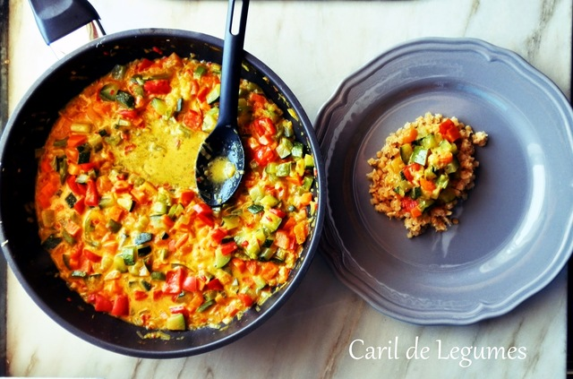 Caril de legumes - Meatless Monday #14