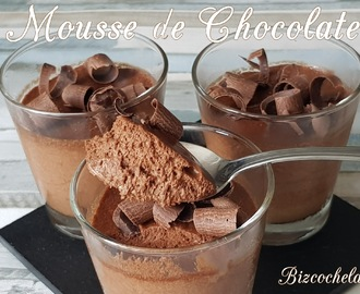 MOUSSE DE CHOCOLATE CLÁSICA