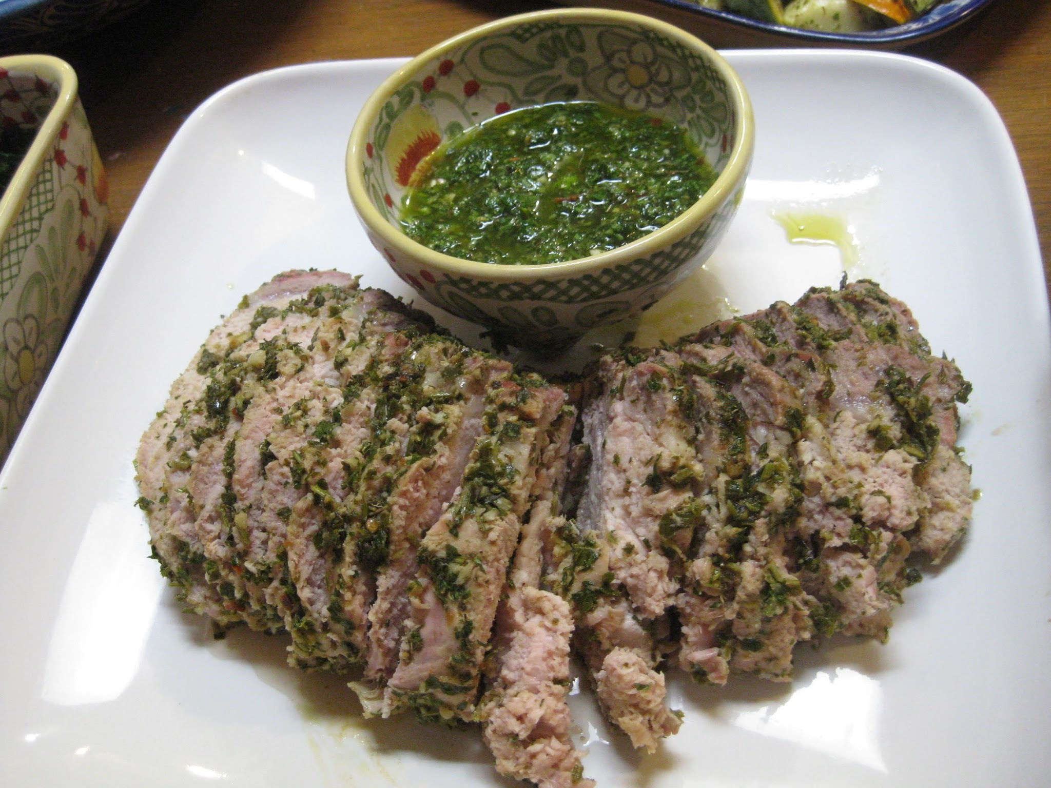 Chimichurri Part II:  The Pork