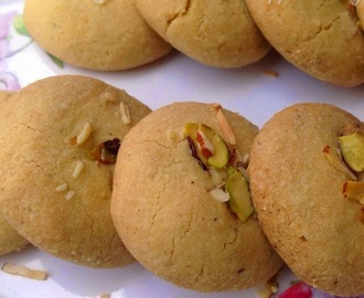 Nankhatai/Indian Cookies