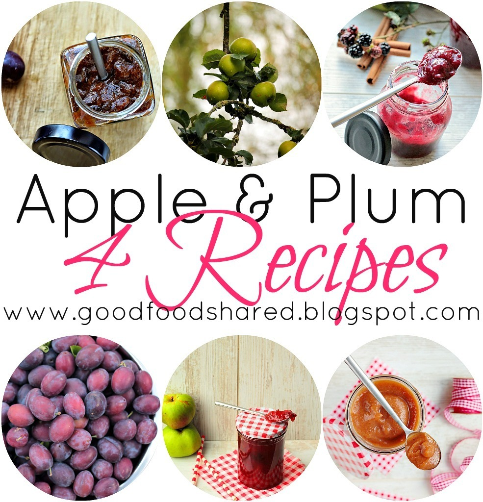 Apples & Plums - 4 Recipes