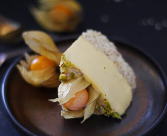 Raw Physalis Cheesecake