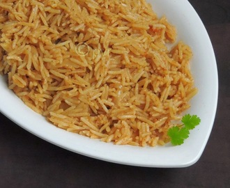Brown Rice - Parsi Style