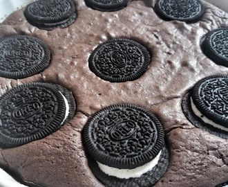 Oreo kekszes brownie :)