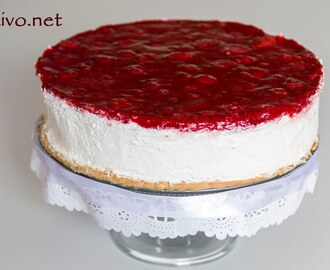 Čizkejk sa jagodama  Strawberry Cheesecake