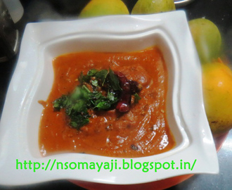 Mango Gojju/Curry