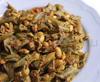 Simba Besara Bhaja / Indian broad beans fry in Mustard paste
