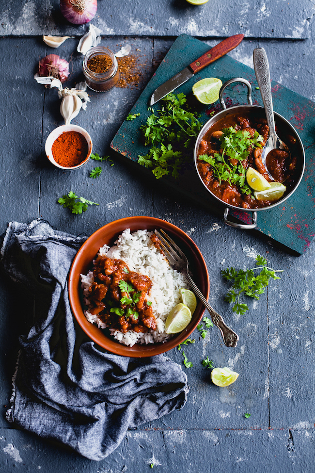 Rajma Masala (Red Kidney Beans Stew)