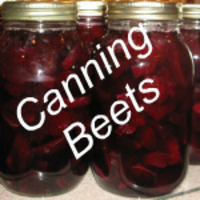 Canning Beets Recipe