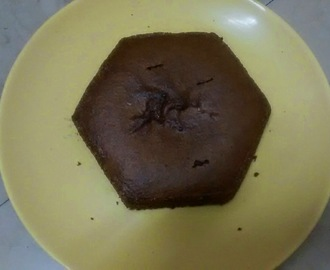 Chocolate Sponge Cake (Eggless)
